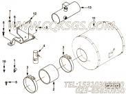 【柴油机QSZ13-G2的发动机控制模块组】 康明斯六角法兰面螺母报价,参数及图片
