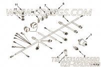 3064824导线安装,用于康明斯KTA19-G3(M)动力发动机导线组,更多【船舶】配件报价