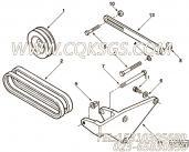 【Belt, V】康明斯CUMMINS柴油机的3040307 Belt, V