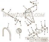 【Belt, V】康明斯CUMMINS柴油机的3629651 Belt, V
