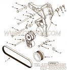 【安装垫片】康明斯CUMMINS柴油机的3639230 安装垫片