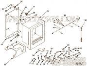 3033800平垫圈,用于康明斯KTA19-G4(M)主机仪表箱组,更多【船用】配件报价
