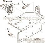 【磁性开关支架】康明斯CUMMINS柴油机的3393992 磁性开关支架