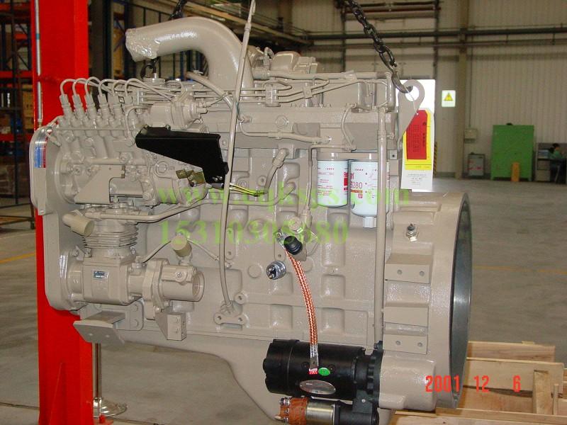 6C发动机整机
